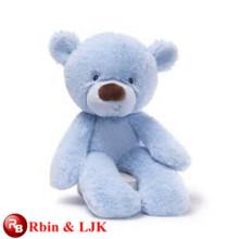 ICTI Audited Factory lächelnd blauen Bären Plüschtier