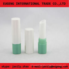 fashion shiny white cute lip balm container