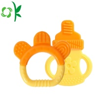 Kualitas tinggi Silicone Rubber Nipple Shaped Teether