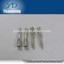 OEM/ODM brass CNC lathe machining screw with stannum plated