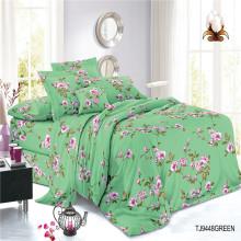 Custom Polyester Woven Digital Print Textile Bedding Sheets