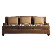 Used hotel furniture 3 seater reception sofa XY0963