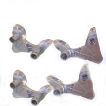 Präzisions-Casting-Achsenteile, Feingussteile (Maschinerie-Teil)