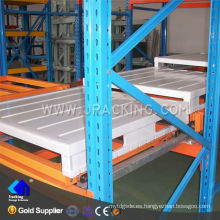 Nanjing jracking 1500 kg por palet utilizado push back shelf