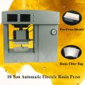 Placas de aquecimento duplo automáticas Colourin Press 2 Ton Electric Electric