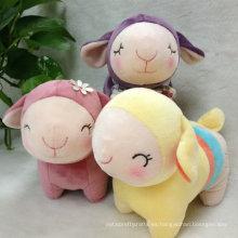 Cute animales de granja suave peluche de oveja de juguete peluche de juguete para niños