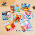 Heat transfer printing 100% polyester microfiber kids cartoon towel