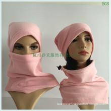 Polar Fleece Hood Magnetic Balaclava Face Mask for Winter