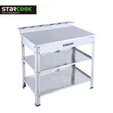 Top quality stand for gas stove kichen table for gas cooktops
