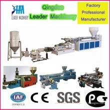 Máquina de granulación de granulación PP Paso doble