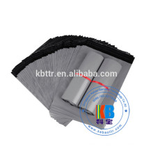 sac imprimé PE écrasé PE LDPE respectueux de l'environnement plastique gris expédition de plastique sac d'expédition