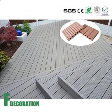 Водонепроницаемый WPC напольный деревянный пластичный составной настил decking