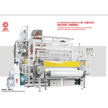 1500 mm Co-Extruded Automatic Protective Film Machine