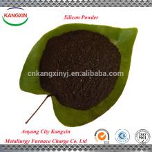 Ferroalloy product for steelmaking silica fume