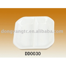 Factory direct wholesale porcelain dishes for restaurant,ceramic tapas dish,snack dish,dip dish,bisque dish,baking tray