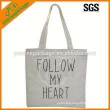 fashionable environmental Cotton tote bag with black character
