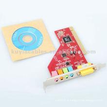 Placa de som PCI com áudio ES1938S para Windows 98 / ME / 2000 / XP / Vista
