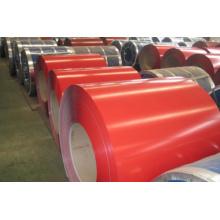 Bobinas de aço galvanizado revestidas com cor prepainte