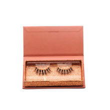 A10T Hitomi Customized Paper Eyelash Boxes Wholesale 3D Real Mink Lashes Clear Band Luxury Real Fluffy 3D Mink Eyelashes