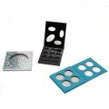 Großhandelsqualitätsmake-up kosmetische Pappschachtel, die leeres Augenschminkepalettenpapier verpackt