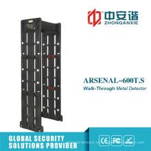 Detector de metales portátil detector de distancia de alta / baja temperatura del teléfono remoto