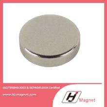 Zn Coating High Precision Neodymium N52 Disc Magnet for Motor