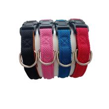 Custom brand label classic printed pattern dog collar