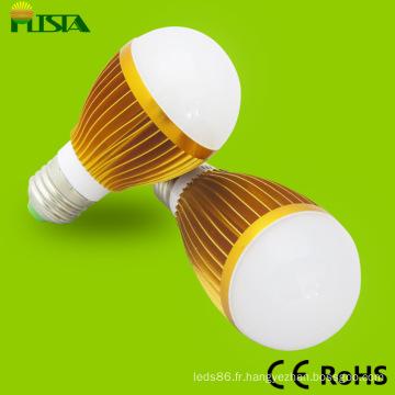 Or fini couleur LED ampoule lampe (ST-BLS-9W)