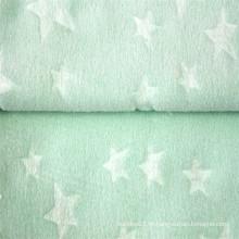 Novo tecido de lã polar jacquard em relevo Arrivel para bebês