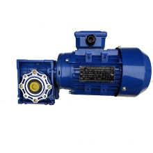 ratio:15:1  550w output speed 94rpm 45.5NM  NMRV050 worm gearbox with motor