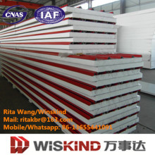 Energy Saving Insulated EPS Sandwich Panels Sound Insulation