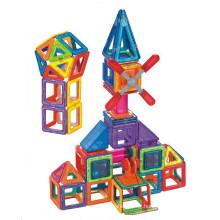 Magnetometric rhombus magnetic building blocks