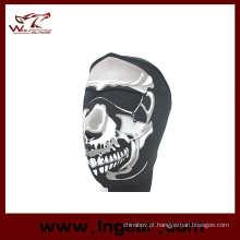 Venda quente da motocicleta preta máscara Airsoft máscara máscara de Paintball