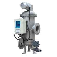 Timer Controller Automatic Suction Stainless Steel Brush Filter