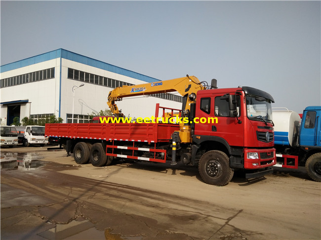 Dongfeng 6x4 16ton Truck with Cranes