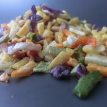 Здоровая закуска овощи жареные в вакууме