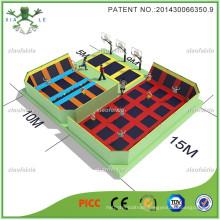 Fancy Lovely Large Trampoline Park for Sports