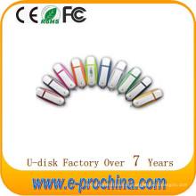 Melhor venda clássico Lastic USB Flash Memory Pen Driver