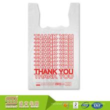 Guangzhou Maibao billiger Preis Custom Print Hdpe T-Shirt Kunststoff Logo Tragetasche Paket Hersteller