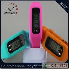 Heißer Verkauf Pedometer Uhr Silikon Uhr für Kinder Armbanduhr (DC-JBX054)