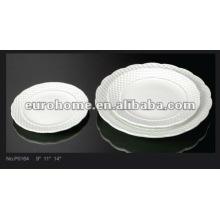 Platos de té por la tarde porcelana placas de cerámica-guangzhou P0164