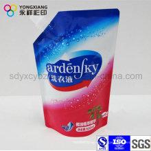 Colorea la bolsa de salida para el detergente de lavandería líquida