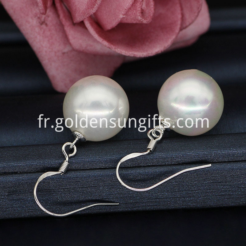 High Quality Large Pearl Earrings