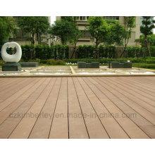 China fornecedor WPC sólido composto Decking Board Laminate Flooring