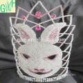 Kronen Tiaras, große Festzug Krone, hohe Tier Tiaras zum Verkauf