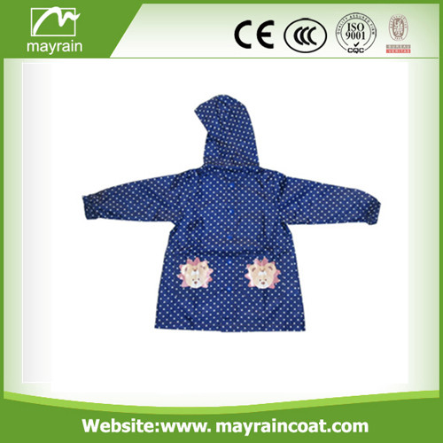 High Quality Kid' s School Raincoat