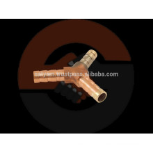 Brass Y Joint Nipple for Garden Hose