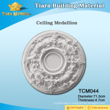 House Design Polyurethane(PU) Carved Ceiling Medallions with Beautiful Styles