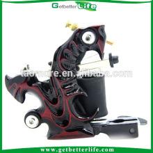 Preço de fábrica Getbetterlife Shader máquina de tatuagem de 10Coils de liga de alumínio de fundição