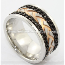 China supplier hot new product for 2014 stainless steel tyre ring for men